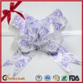 Напечатано Роза Шаблон Рождественские Украшения Тянуть Поклон Бабочки