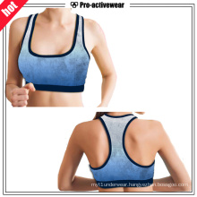 OEM Factory Suablimation Mesh Puls Size Women Sports Bra