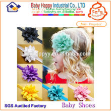 Cheap Factory Promotion baby hair bow on thin elastic