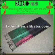 winter color silk shawls 100% pure silk