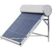 300L compacto de alta presión del tubo de calor y el intercambiador de calor Calentador de agua solar con KEYMARK SOLAR y SRCC