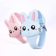 Cheap OEM 3D animal cartoon unique digital watch for kids