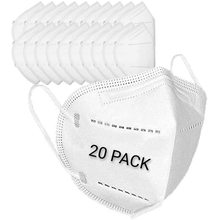 Máscara civil KN95 anti-poeira de 5 camadas para adultos