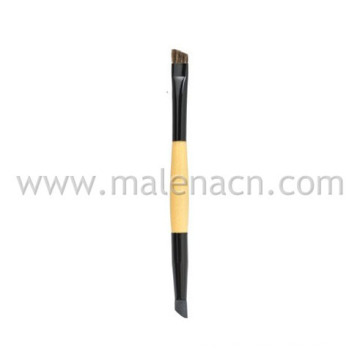 Pencil and Angled Brow Cosmetic Brush, Dual Ends Makeup Brush