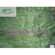 Creped Nylon Polyester Taffeta Fabric