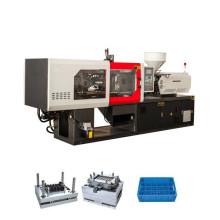 Máquina de moldeo de la preforma plástica automática llena de 150ton usada para hacer el compartimiento de polvo, marco