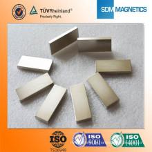 Professioneller kundenspezifischer Nickel beschichteter Magnet Permanenter Magnet Magnetischer Block mit TS16949