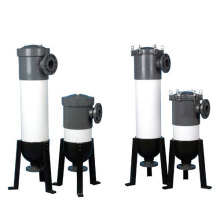 Boîtiers de filtre à manches en PVC
