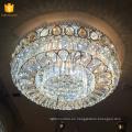 Plafón de cristal bajo techo montaje empotrado China lamparas para decoración de interior 58546