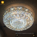 Low ceiling crystal home lamp flush mount China lamparas for indoor decoration 58546