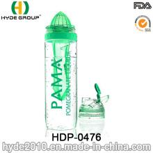 32oz BPA frei Tritan Fruit Infuser Wasserflasche, FDA Plastikwasserflasche (HDP-0476)