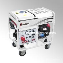 Générateur d'essence à deux cylindres à air comprimé 8kw (GG12000E)