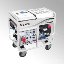8kw Air-Cooled Two Cylinder Gasoline Generator (GG12000E)