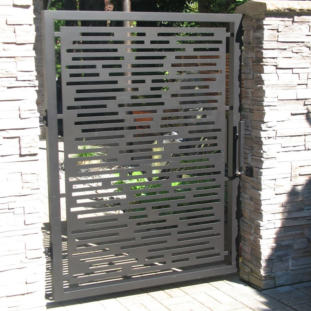 Laser Cutting Sheet Metal Gate