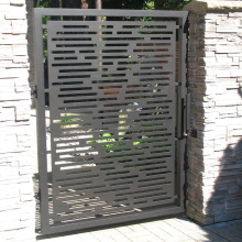 Decorative Metal Gates Design