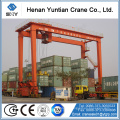 Container gantry crane & straddle carrier