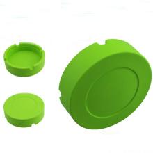 Round Shape 100% Food Grade Non Toxic Tire Silicone Ashtray