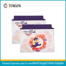 Enveloppe de document express de haute qualité avec fermeture par pelage et joint