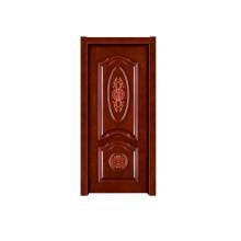 Porta de madeira interior da porta de madeira contínua do quarto da porta (RW027)
