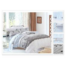 40 * 40s 133 * 72 impressão reativa Purebest tencel 2013 mais novo conjunto de cama