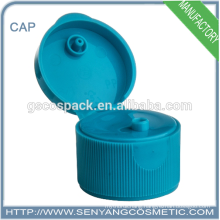 Hot sale cleanser essence 24mm plastic screw cap for bottle
