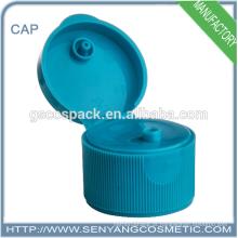 Tampa de parafuso plástica quente da essência do limpador da venda 24mm para o frasco