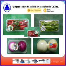 Vegetable Tray Automatic Shrink Wrapping Machine