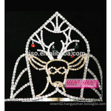 wholesale assorted designs cutie animal deer crystal tiara
