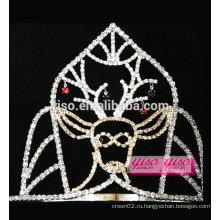 Оптовые сортированные дизайны милашка олени кристалл тиара