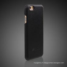 Cas de téléphone portable en cuir PU pour iPhone6
