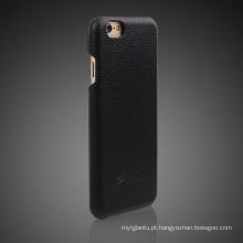 Caso de telefone móvel de couro pu para iphone6
