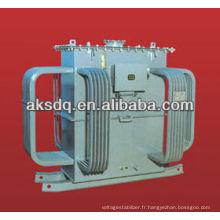 Vente chaude S9 Transformateur de distribution de puissance immergé à l'huile transformé Fabriqué à Wenzhou Yueqing Liushi Jingkesai Factory