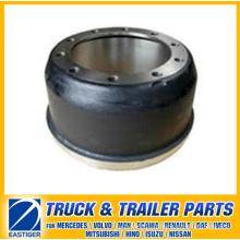 Peças de reboque do tambor de freio 21018986 para Ror