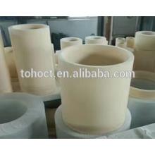 Grande tamanho grande Alumina zircônia SIC mulita anel de cerâmica tubo ponteira haste rolo de tubo de pino