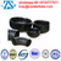 Schwarze 8-Zoll-Reduzierstücke und Armaturen und Flansch