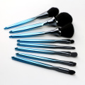 8pcs plastic customized color makeup brush sets