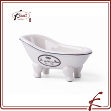 2015 prato de sabão branco da porcelana da beleza do projeto original