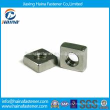 Em Estoque Alta Qualidade M5-M10 Aço Inoxidável Flat Square Nuts