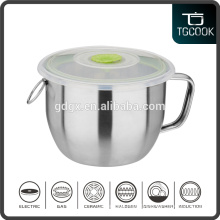 Personalized Stainless Steel Instant Noodles Cup, Storage Bowl, Sealing Fresh Bowl