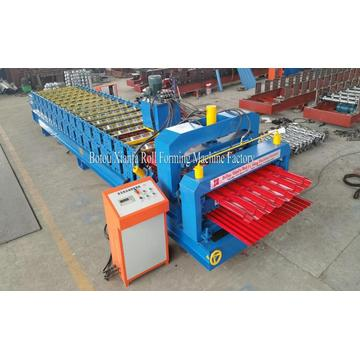glazed and corrugated Tile ​Roofing roll forming machine