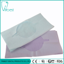 Hot Sale Disposable Colorful With Hole Dental Bib