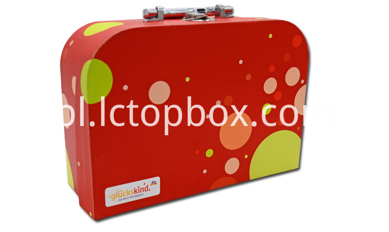 Christmas cardboard Suitcase shaped Gift paper Boxes