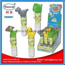 Summer Brand New Mini Hand Crank Dinosaur Water Gun Toy