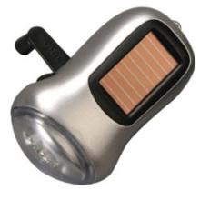 Солнечный фонарик динамо (факел) (14-2Y2012)