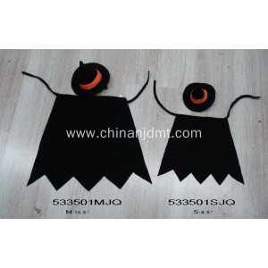 Black Halloween pet clothes