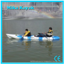 Plastic Ocean Kayak Sale for Two Person Sit on Top Canoe