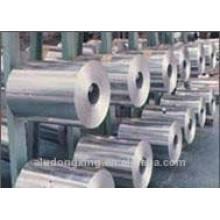 Uso de alimentos e tipo de rolo Folha de alumínio