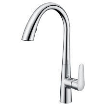 Contemporary  pull down kitchen faucet