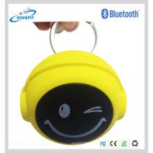 Venda quente sorrindo rosto falante mini orador bluetooth