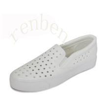 Sapatas de lona dos calçados das mulheres novas quentes da venda